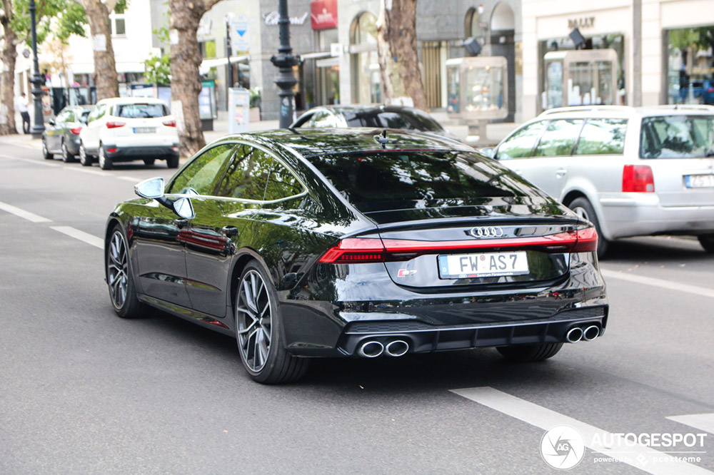 Audi S7 Sportback debuteert in Berlijn
