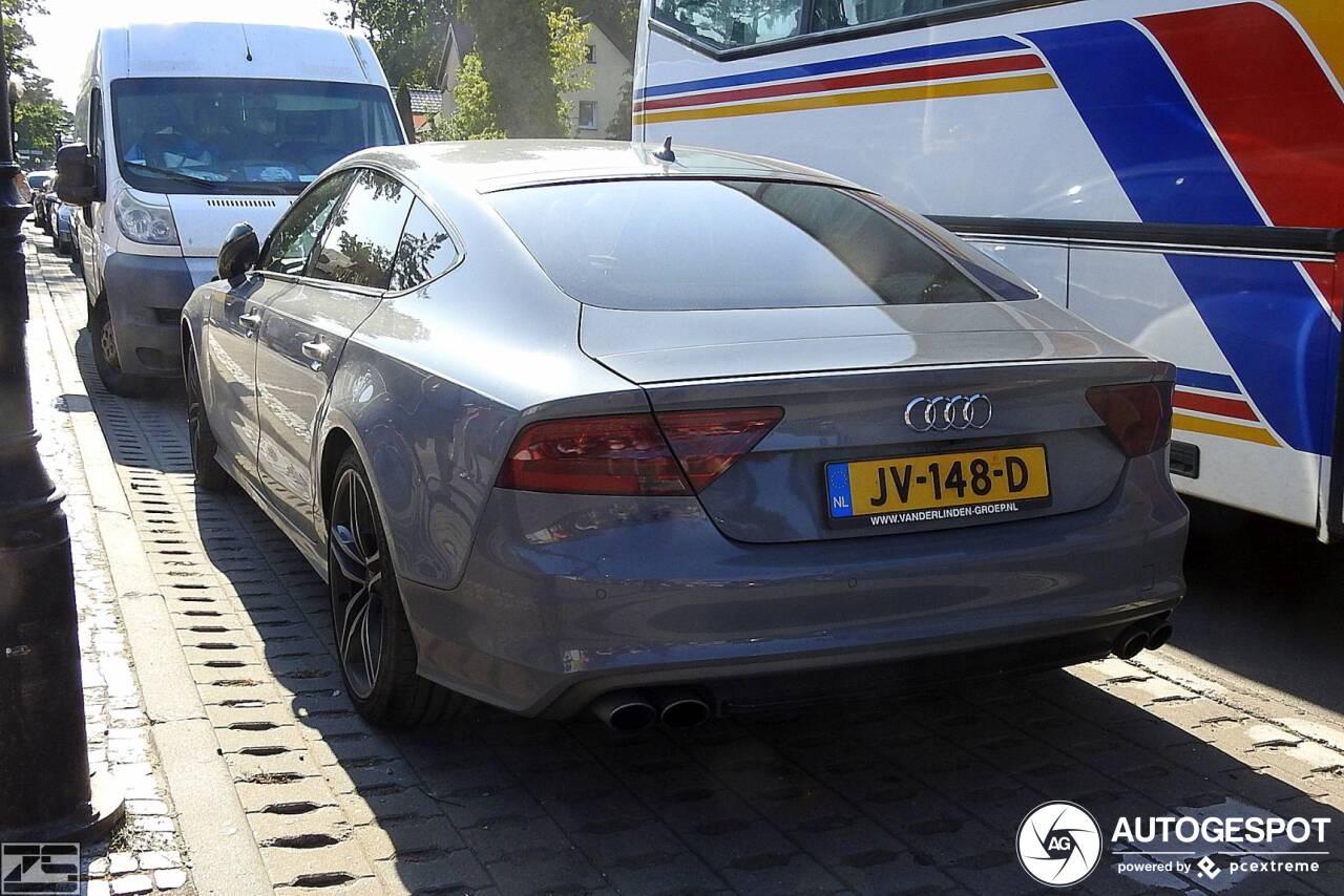 Deze Nederlandse Audi S7 valt overal ten prooi aan de camera