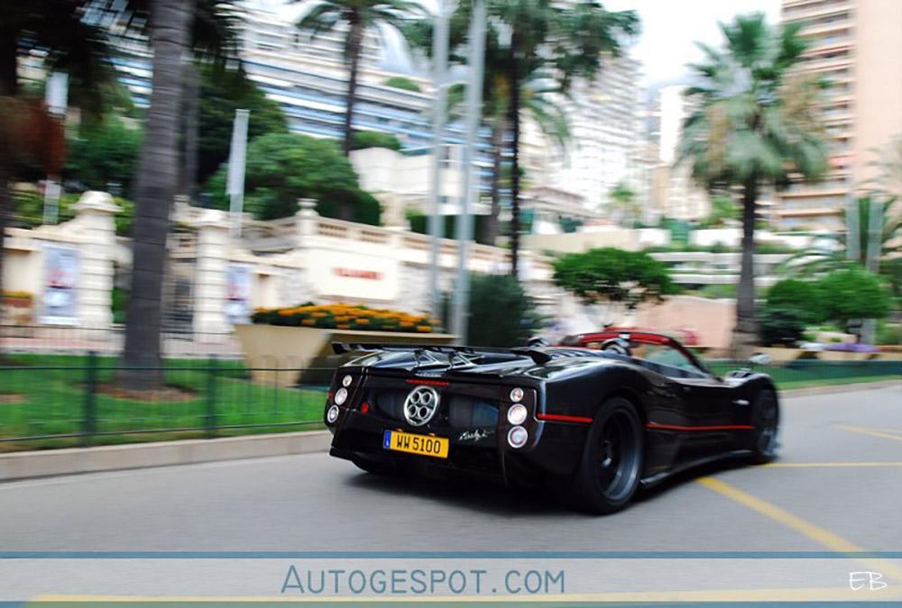 Vandaag tien jaar geleden: Pagani Zonda C12-F Roadster in Monaco
