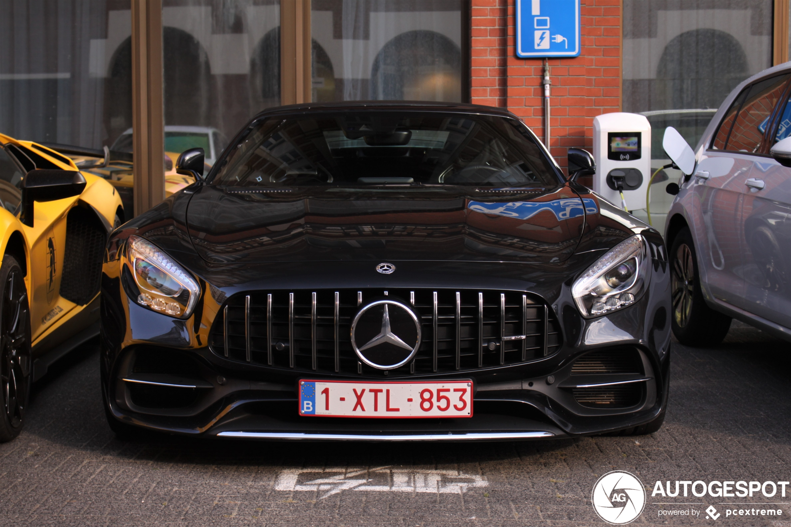 spot van de dag: Mercedes-AMG GT Roadster