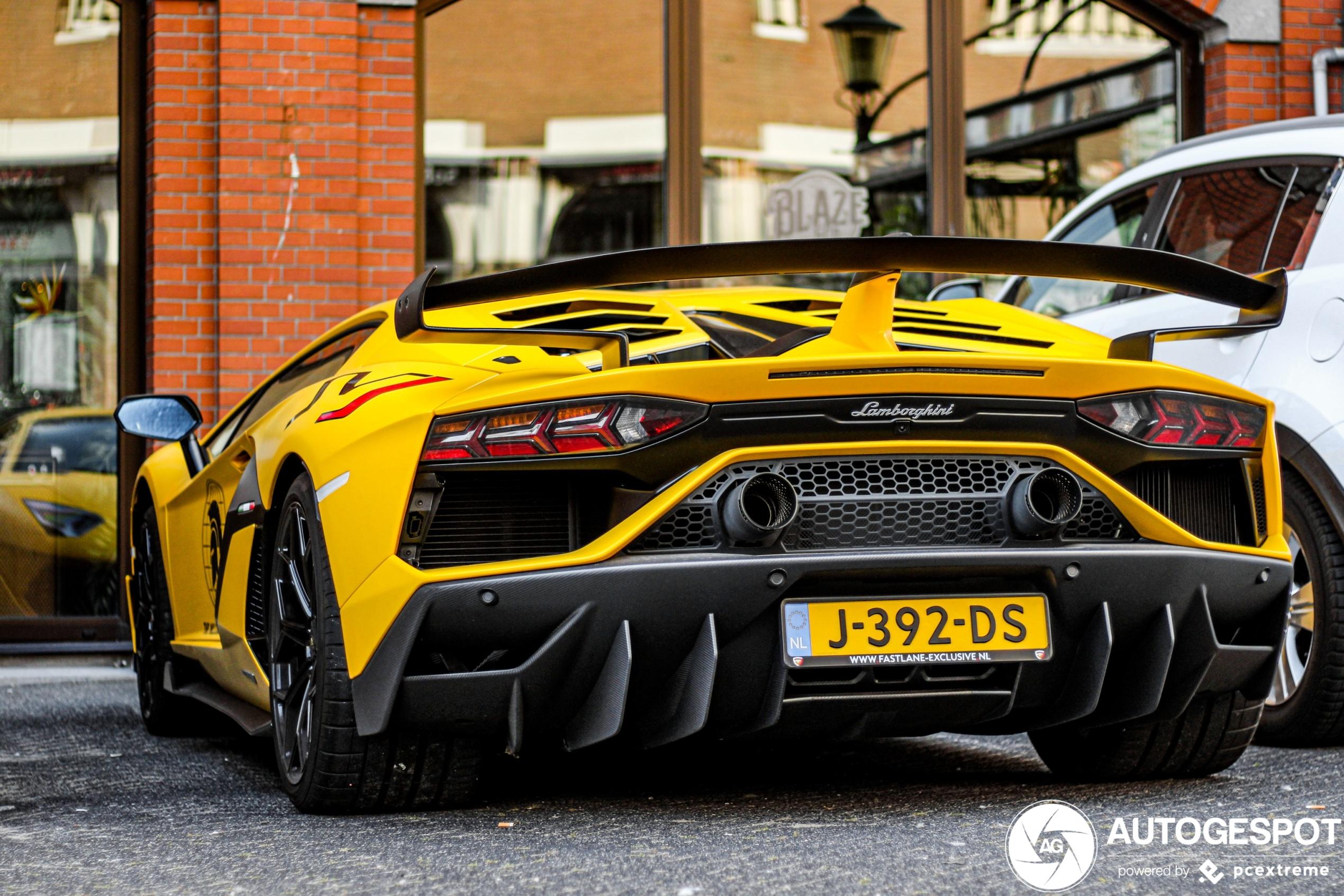 Spot van de dag: Lamborghini Aventador LP770-4 SVJ