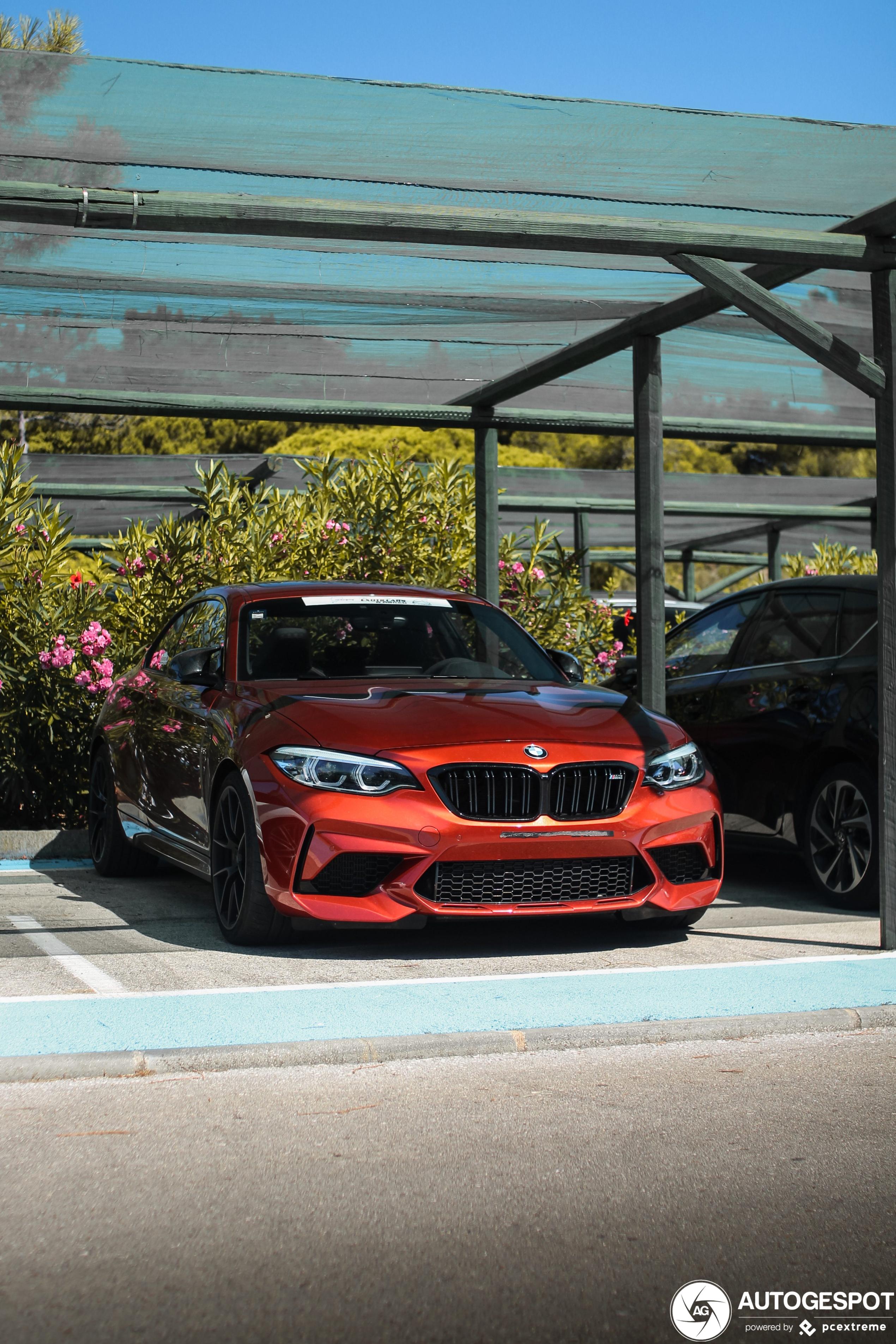 BMW M2 Competition zoekt alvast de schaduw op