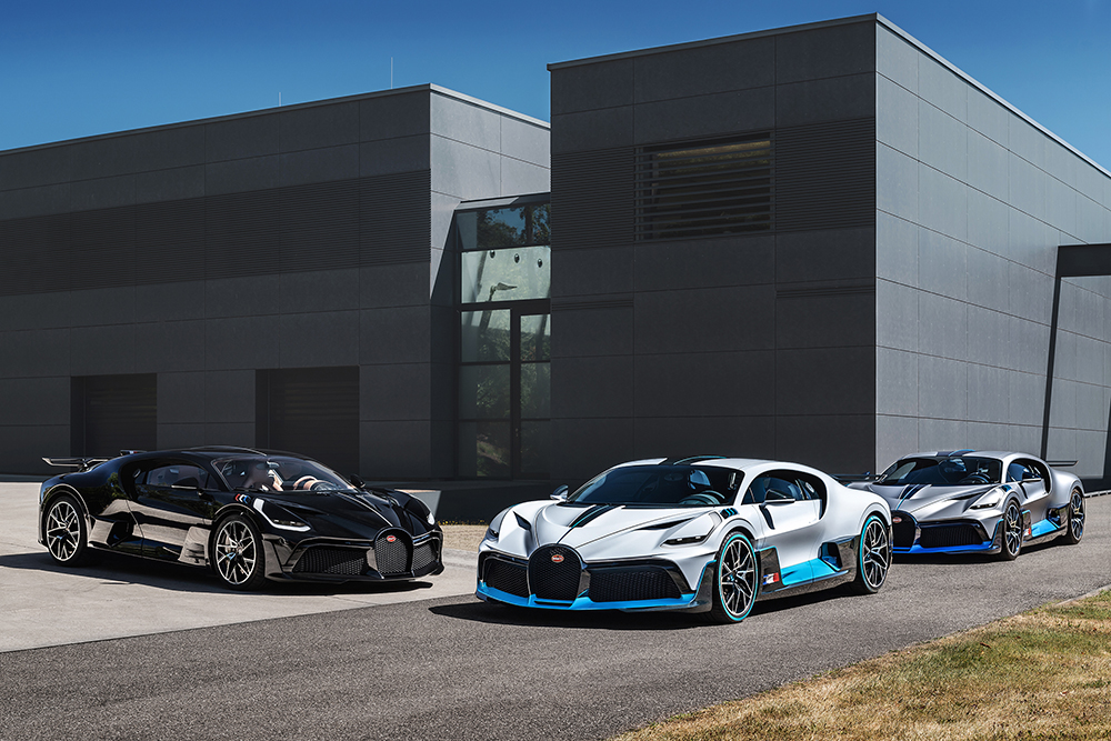 First Bugatti Divo's will be delivered to customers