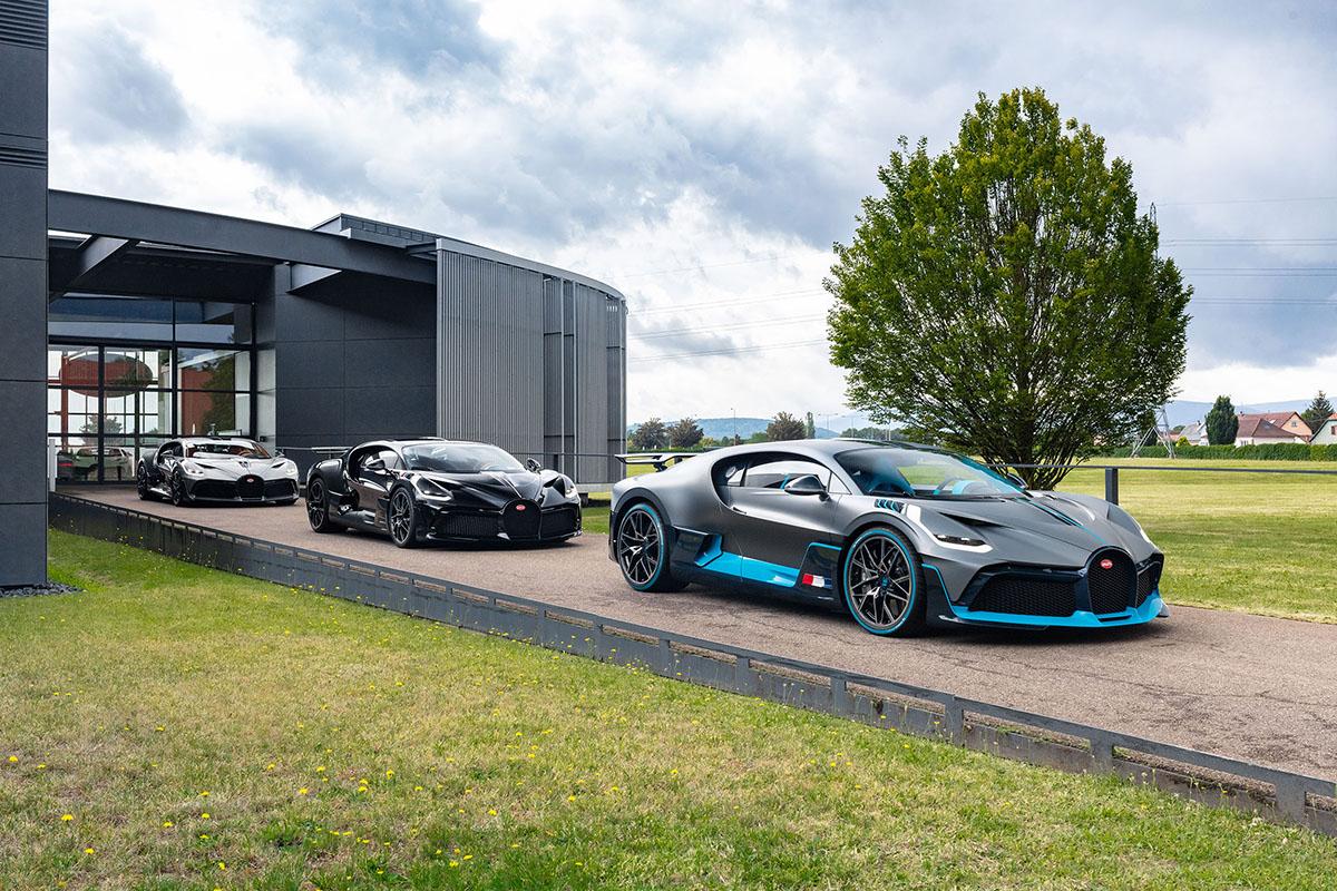 Eerste Bugatti Divo's vinden hun weg naar klant