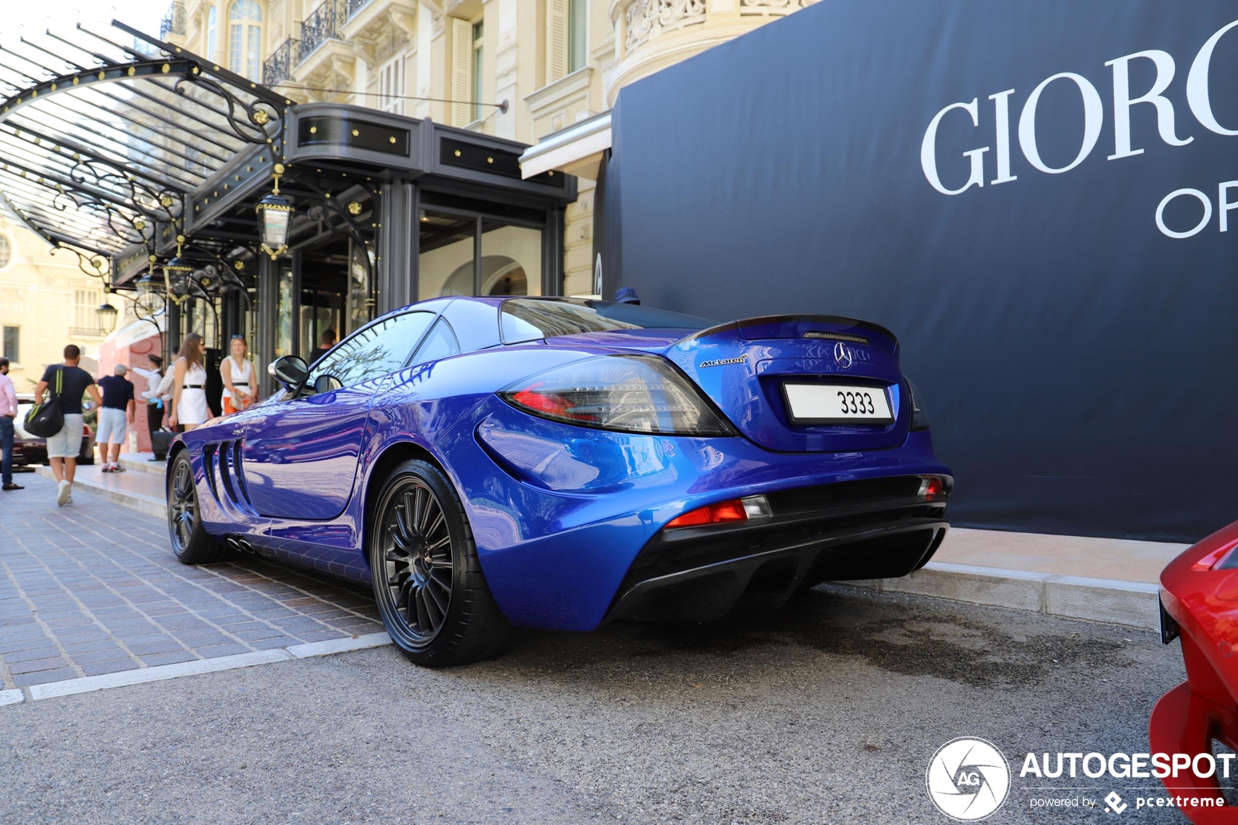 Mercedes-Benz SLR McLaren Edition is prachtig in Monaco