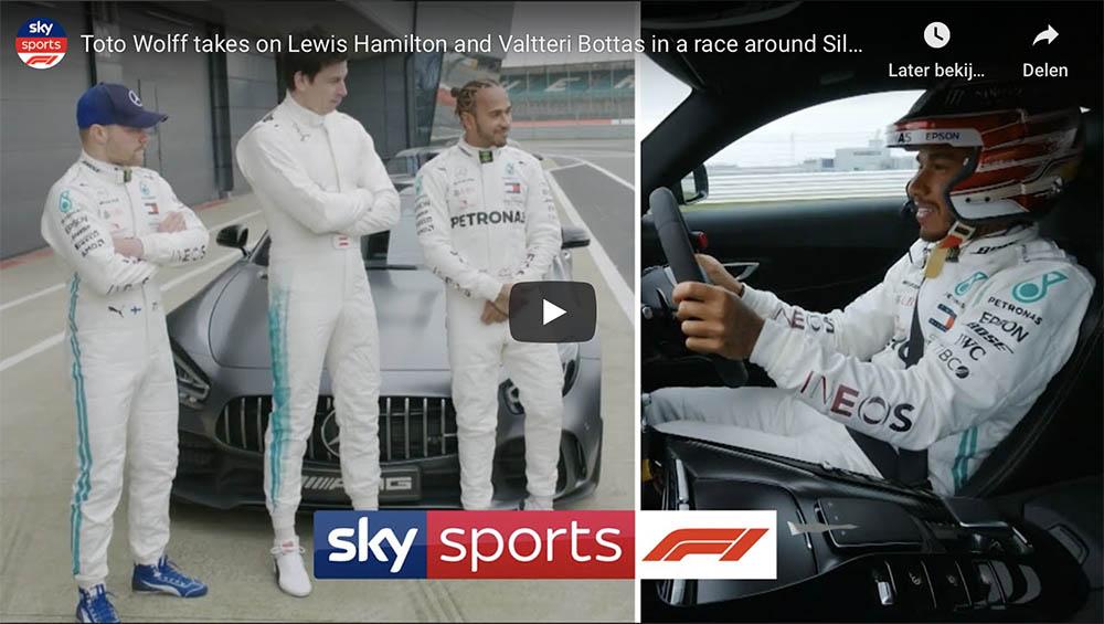 Toto Wolff neemt het op tegen Lewis Hamilton en Valtteri Bottas