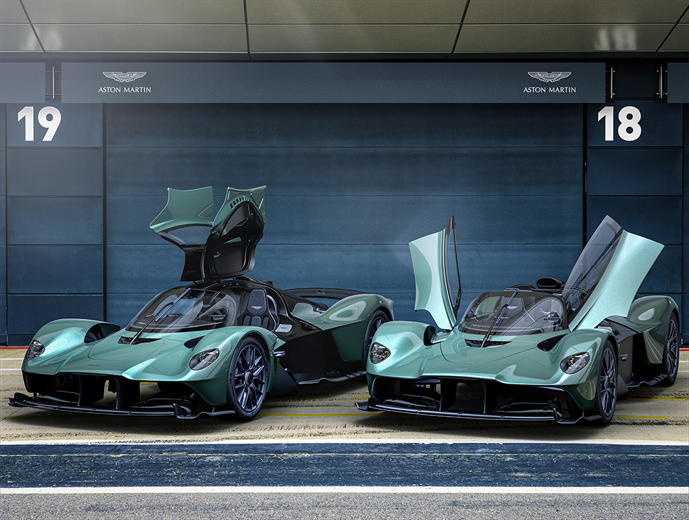 Wow! Aston Martins introduces the Valkyrie Spider