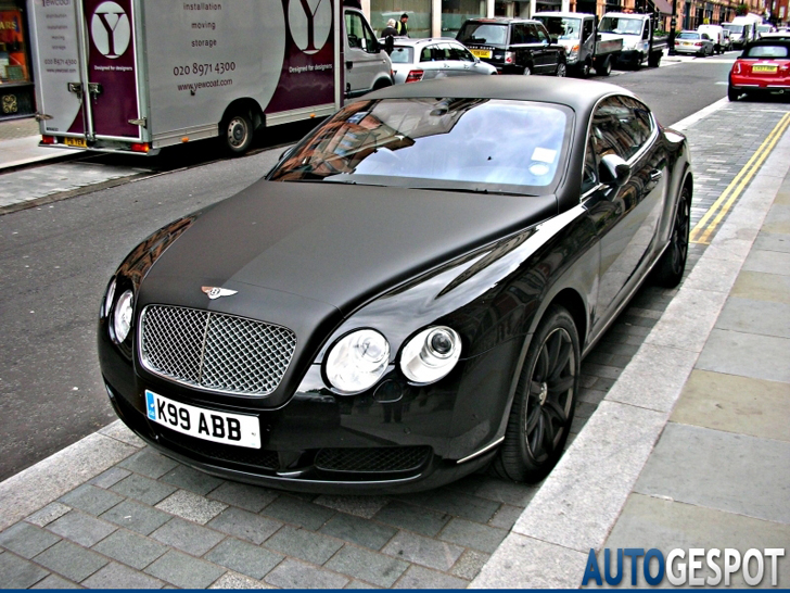 Wrappen Met Mate Bentley Continental Gt