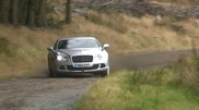New Top Gear stunt? Rally driving with a Bentley Continental GT 2012