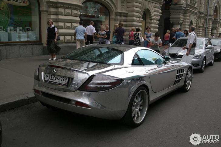 Chromalicious: Mercedes-Benz SLR McLaren