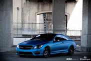 Brutal on ADV.1 : Mercedes-Benz CL 63 AMG in matte blue