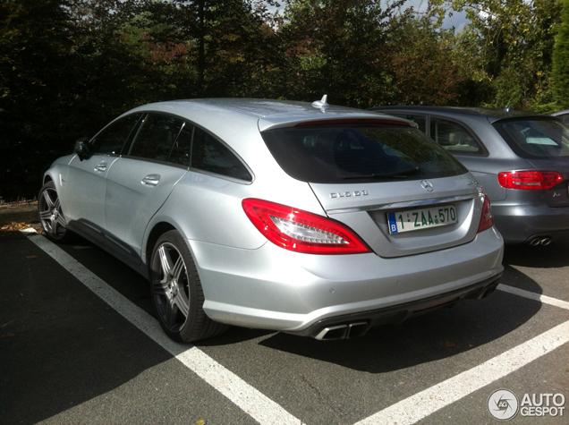 Snelle tourer snel gespot: Mercedes-Benz CLS 63 AMG Shooting Brake