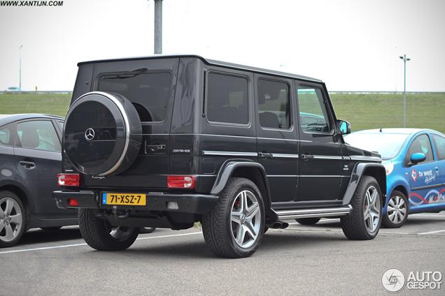Trotse Nederlander zet Mercedes-Benz G 65 AMG op kenteken!