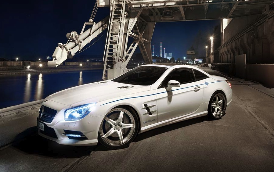 Graf Weckerle Mercedes Benz Sl Class Fits Perfect Next To Your Yacht