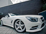 Graf Weckerle Mercedes-Benz SL class fits perfect next to your yacht