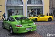 Porsche 997 GT3 MkII shakes up Zürich