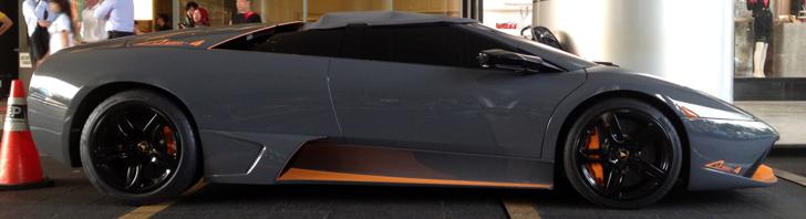 Topspot: Lamborghini Murciélago LP650-4 Roadster in Jakarta
