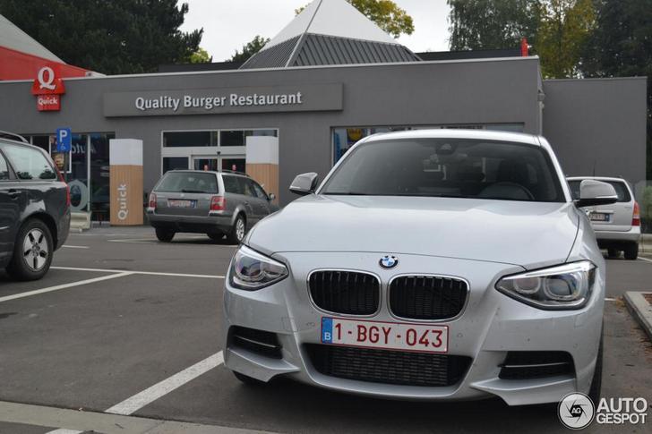 Voor het eerst in het wild gespot: BMW M135i