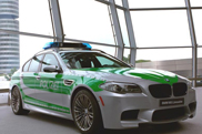 BMW M5 F10 in Polizei-outfit