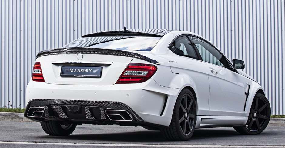 Small Mercedes Benz C Class Tuned By Mansory