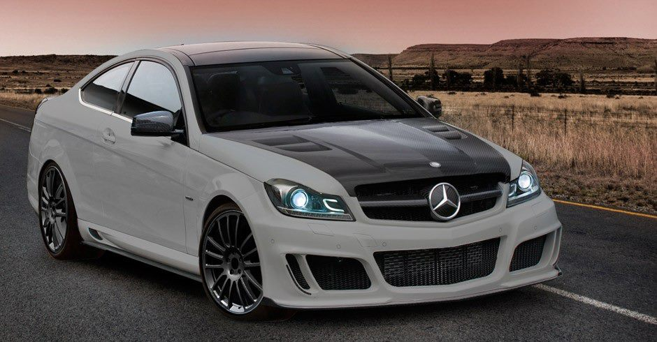 Small mercedes benz c class tuned by mansory for Small mercedes benz