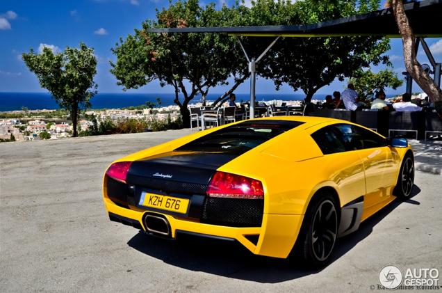Gespot op Cyprus: Lamborghini Murciélago LP640