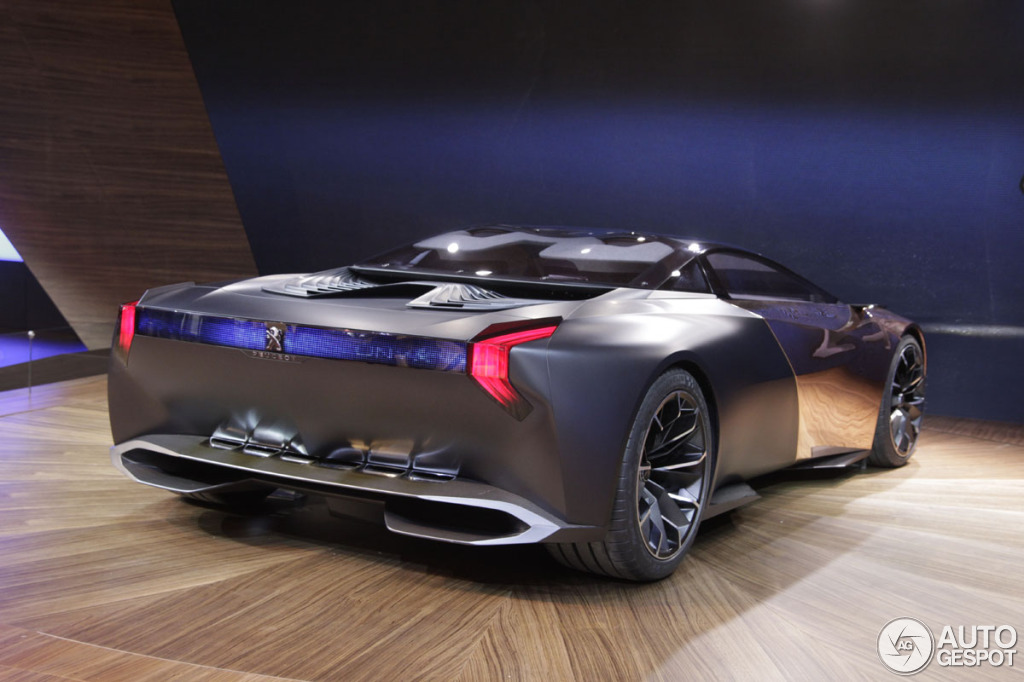 Paris 2012 Peugeot Onyx Concept