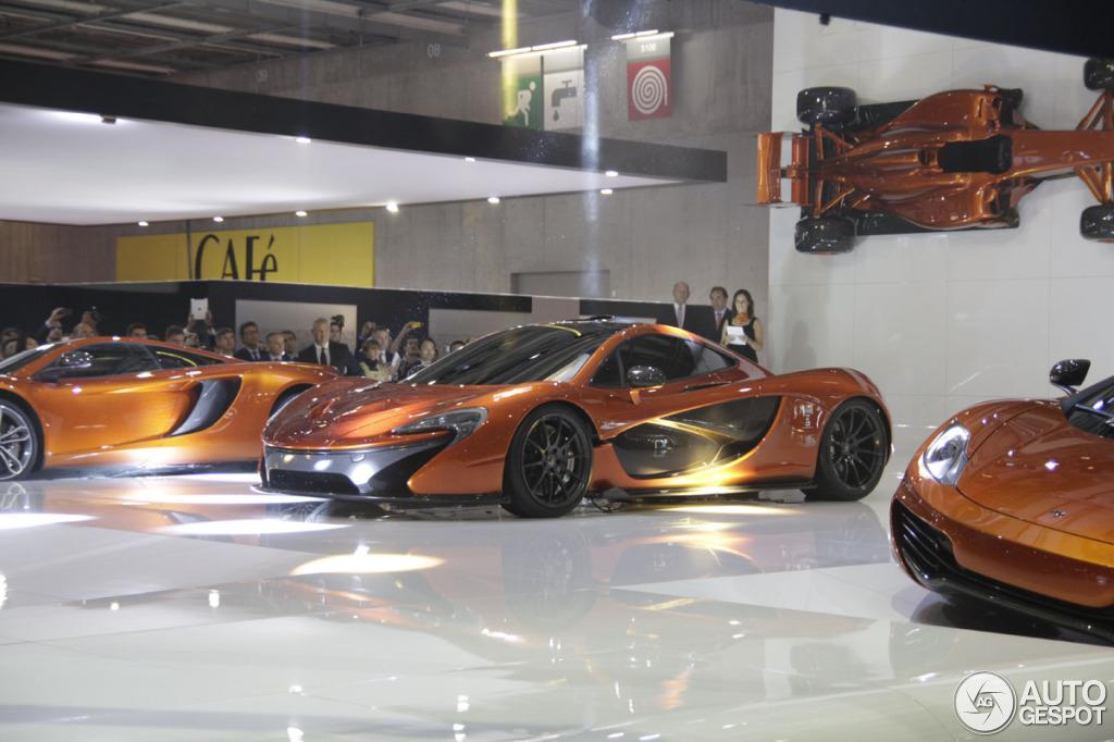 Paris 2012 McLaren P1