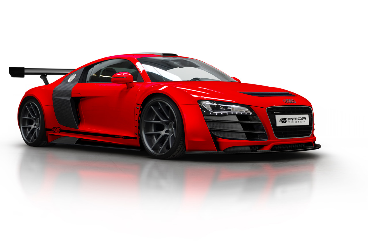 r8 gt3 look-a-like thanks to prior design