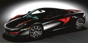 There it is: first special version of the McLaren MP4-12C