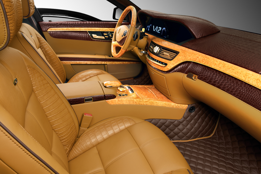 you can 39 t buy taste topcar makes the interior of a mercedes benz s600 guard a piece of art. Black Bedroom Furniture Sets. Home Design Ideas