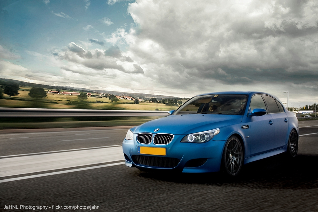 Duo Shoot Bmw M5 E60 And Audi R8 V10 In The Same Color