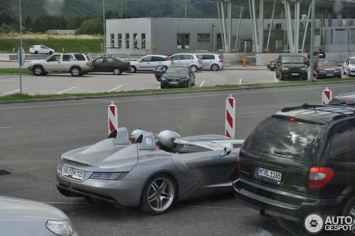 Als een duiveltje uit een doosje: Mercedes-Benz SLR McLaren Stirling Moss