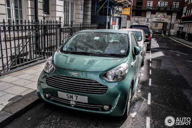 Stirling Moss Takes It Easy Cruising Around In An Aston Martin Cygnet - Aston martin cygnet for sale