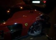Too hard to handle? Ferrari 599 Mansory Stallone gecrasht
