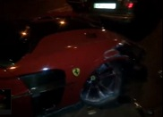 Too hard to handle? Ferrari 599 Mansory Stallone crashed