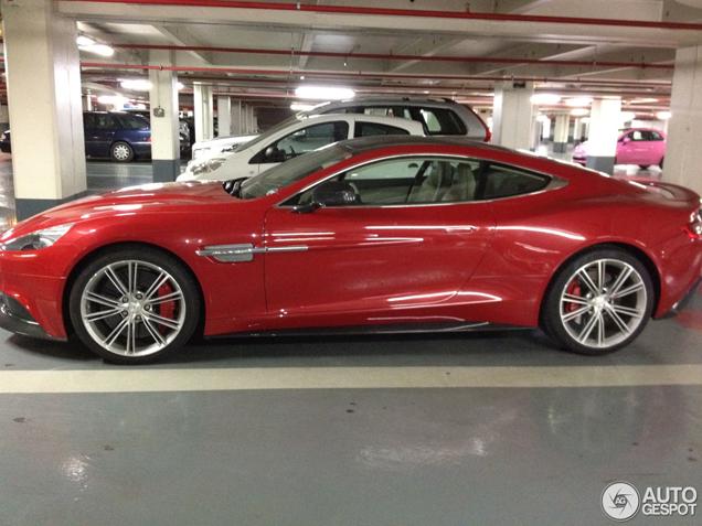 Snelle primeur: de nieuwe Aston Martin Vanquish