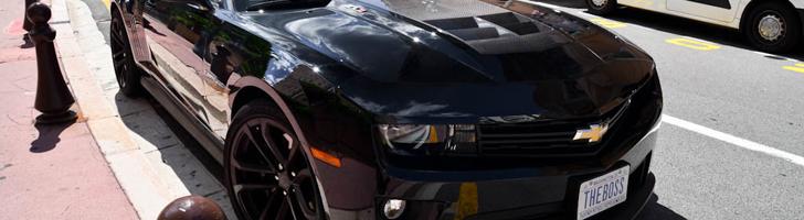 Like a boss: Chevrolet Camaro ZL1 in Monaco