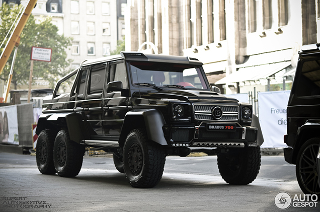 Brabus B63s 700 6x6 Is Angstaanjagend