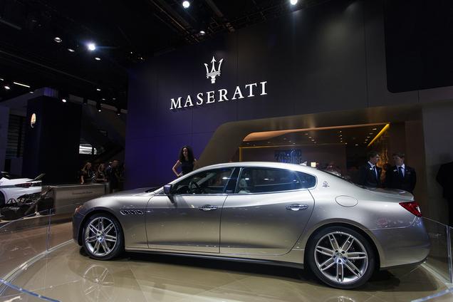 Iaa 2013 Maserati Quattroporte Ermenegildo Zegna Limited Edition