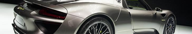 IAA 2013: Porsche 918 Spyder