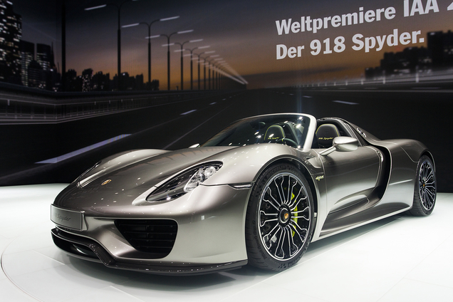 Porsche 918 Spyder will be very expensive in China