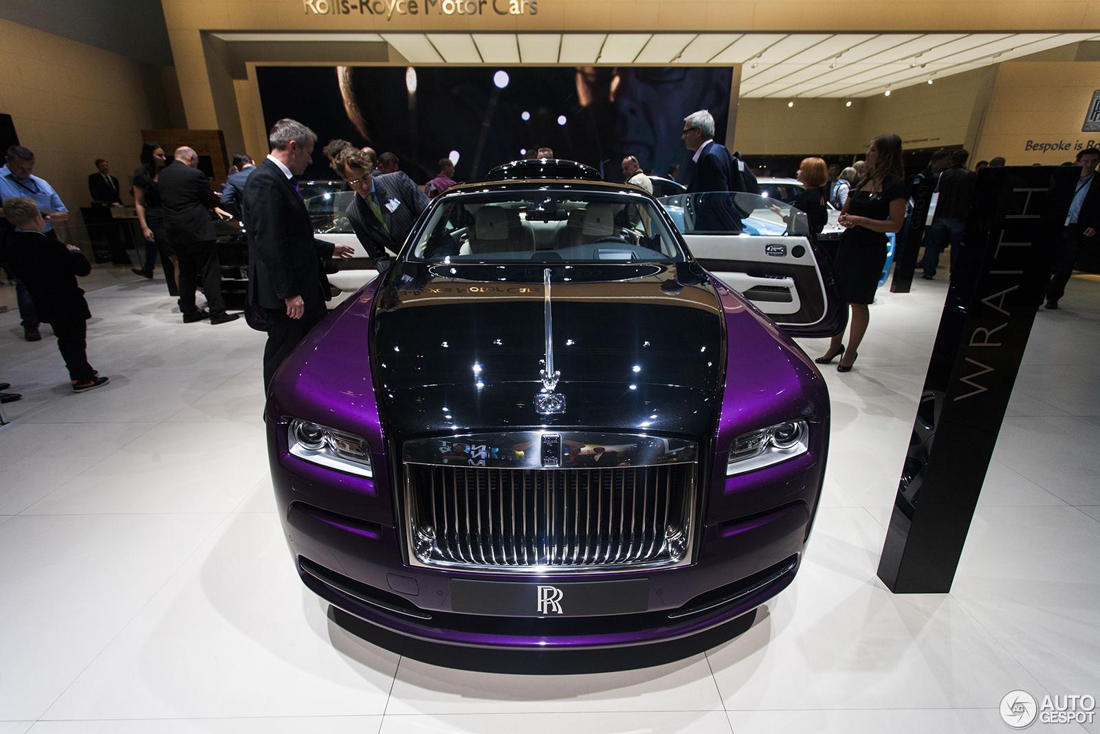 IAA 2013: Rolls-Royce Ghost Alpine Trial & Bespoke Wraith