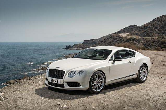 Bentley reveals the Continental GT V8 S!