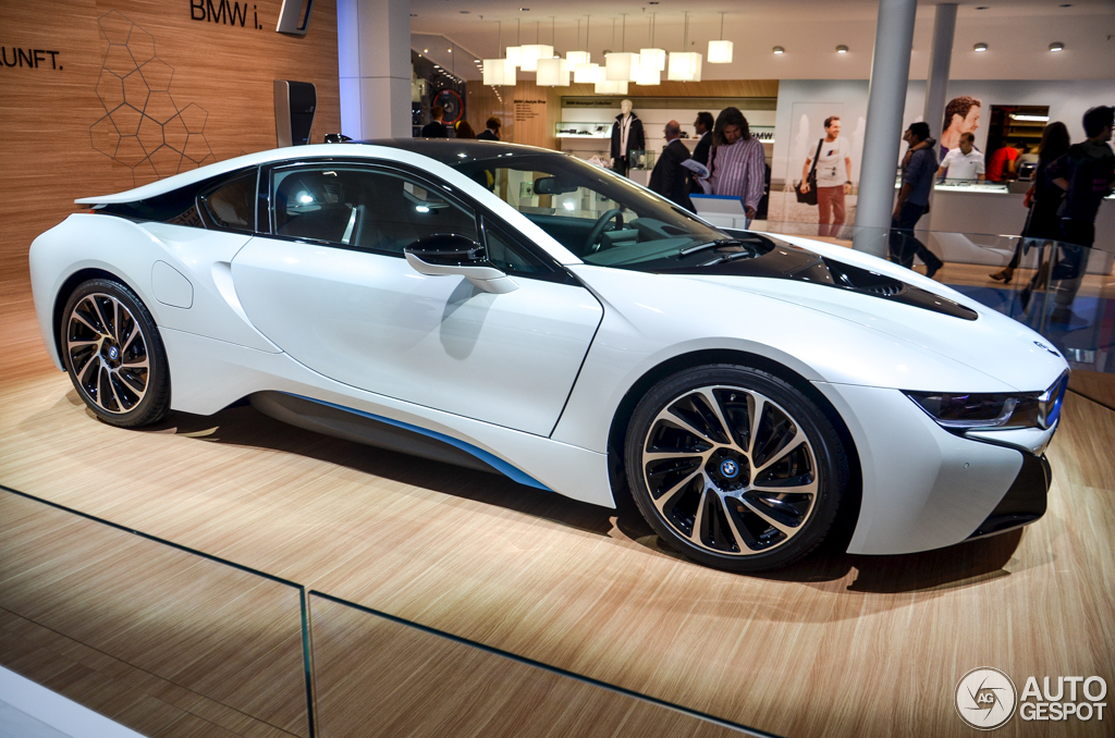 Iaa 2013 Bmw I8 Is Ready For Production
