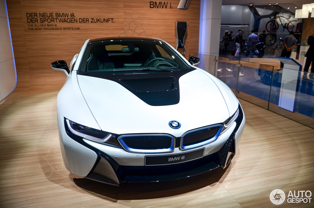 BMW I Is Ready For Production - 2013 bmw i8