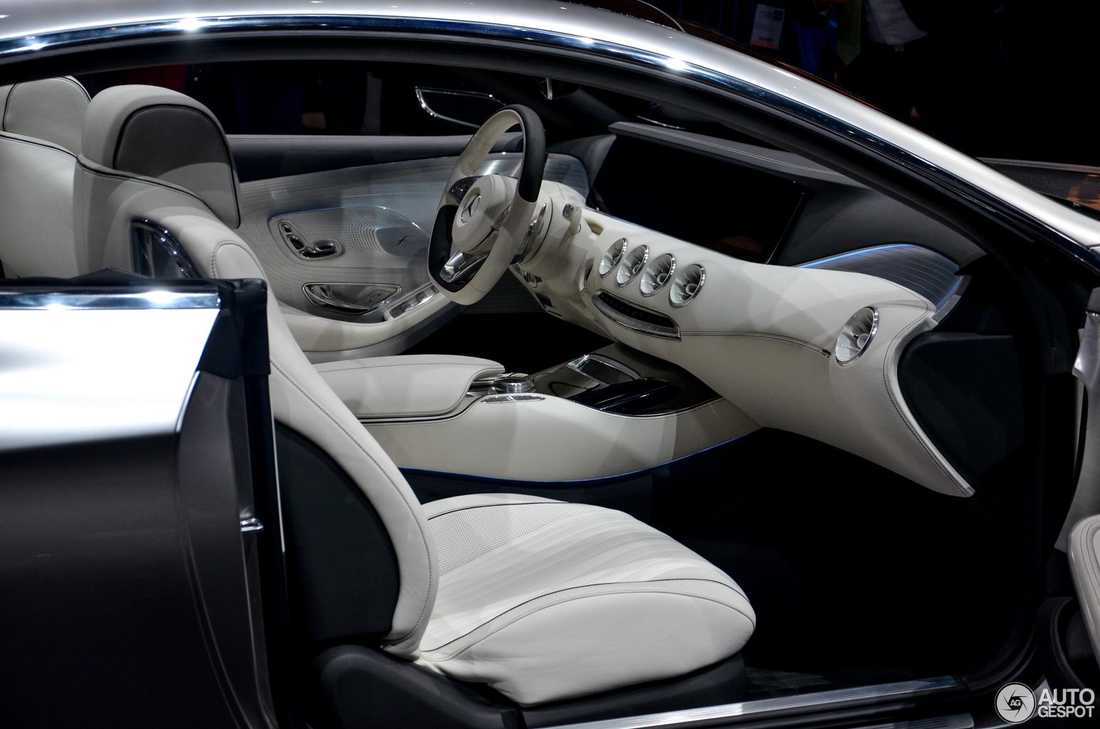 Iaa 2013 Mercedes Benz Concept S Class Coup 233