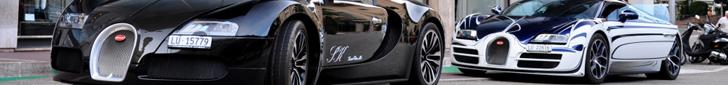 Уникальный Veyron Grand Sport Vitesse L'Or Blanc в Монако
