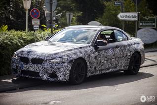 De BMW F83 M4 convertible ziet er ook al lekker uit!