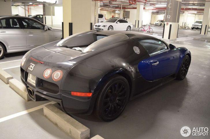 ter o dono deste bugatti veyron perdido o amor ao carro. Black Bedroom Furniture Sets. Home Design Ideas